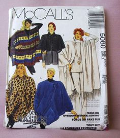 1990 Uncut McCall's Pattern  5080 Misses by lovelylovepatterns, $5.00