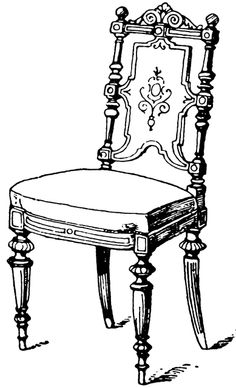 Modern Chair | ClipArt ETC