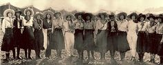 Cowgirls of the 101 Ranch (and tips for caring for vintage photos) from the Lone Cowgirl