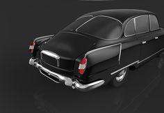 Tatra 603 3d model - 3dsMax
