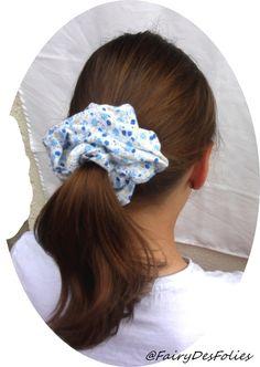 chouchou rose fuchsia et blanc coiffure fille queue de cheval couette tresse natte coiffures. Black Bedroom Furniture Sets. Home Design Ideas