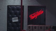 The outside entry of Fangtasia photomaniped and made into a background from a screen cap. True Blood and Fangtasia is property of HBO, Alan Ball and Cha. True Blood Series, Take Me Home, Neon Signs, Halloween, Good Times, Spooky Halloween