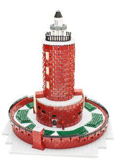 LEGO lighthouse shines brightly