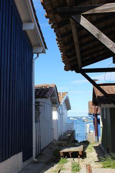 Promenez-vous autour des cabanes de pêcheurs du #Cap #Ferret ! #Bord de #mer