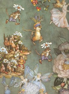 Faeries and Little Folk: Peg Maltby's Fairy Folk Forest Fairy, Flower Fairies, Fairy Art, Magical Creatures, Faeries, Illustrators, Fantasy Art, Fairy Tales, Illustration Art