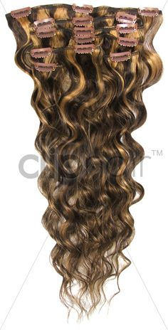 Bodywave Full Clip in Hair Extensions | Permanent curls