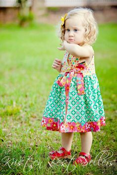 Wrap Style Dress  by Littlewhimsywears