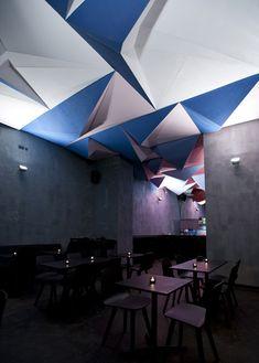 ♂ Commercial space design If Dogs Run Free restaurant, Vienna, Austra by Tzou Lubroth Architekten