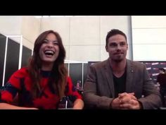 Beauty and the Beast -- Kristin Kreuk and Jay Ryan #BatB #Fanhattan