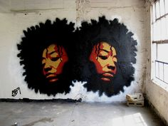 blisswithyourkindness:    afroart on We Heart It. http://weheartit.com/entry/53149852/via/myself_smile