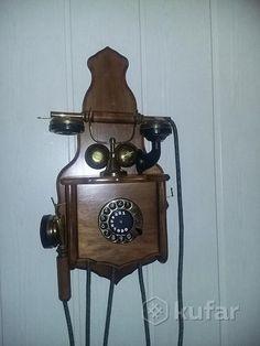 Раритетный антикварный телефонный аппарат