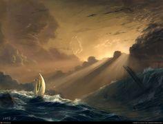 yanwen Tang, sail to future, Photoshop