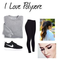 """""""1"""" by arbaugh-madison on Polyvore featuring Blair and NIKE"""