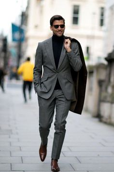 Stylish engagement party attire for him fall weddings klasik Costume Gris, Mode Costume, Mode Masculine, Mens Fashion Suits, Mens Suits, Grey Suits, Grey Suit Men, Stylish Men, Men Casual