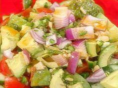 Guacamole Salad recipe from Rachael Ray via Food Network