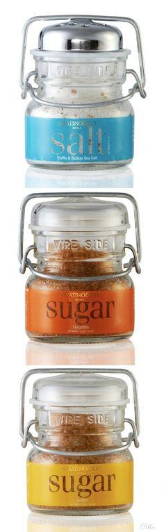 Salt & Sugar Packaging Design Mediterranean Gourmets/Sabatino.
