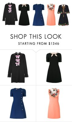 """""""Gucci Dresses"""" by simplefashionblack ❤ liked on Polyvore featuring Gucci"""