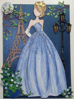 Tarjeta de princesa
