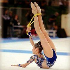 Gimnast Laissan Utyasheva (Russia)