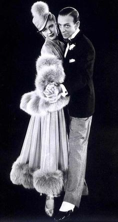 Fred Astaire and Ginger Rogers Costumes