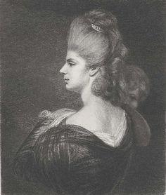 etching Lady Reynolds