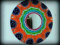♦♦Mandalas decorativos con espejos♦♦