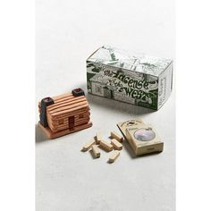 Incense Of The West Log Cabin Incense ($9) ❤ liked on Polyvore featuring home, home decor, home fragrance and home scents