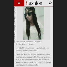 lookandfashion.hola.com/fashionflashesdemoda/ by #SarahSuttonCollection #Madrid