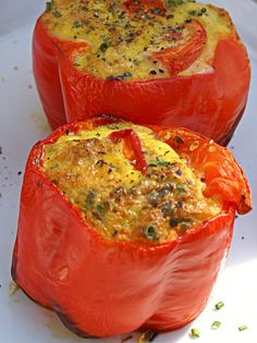 bell pepper and eggs