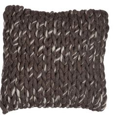 Polštář Jolipa Brown Cotton, 45x45 cm