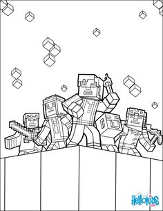 find this pin and more on kids parties minecraft coloring page