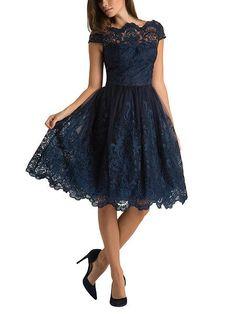 Baroque Style Tea Dress