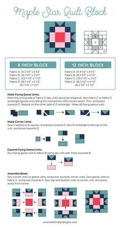 Quilt Blocks Easy, Modern Quilt Blocks, Star Blocks, Sampler Quilts, Star Quilts, Amish Quilts, Star Quilt Patterns, Pattern Blocks, Canvas Patterns