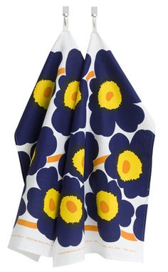 Marimekko Set of 2 Pieni Unikko Tea Towels