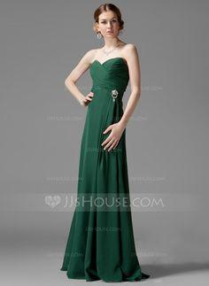 Prom Dresses - $112.99 - Empire Sweetheart Floor-Length Chiffon Bridesmaid Dress With Ruffle Beading (018044001) http://jjshouse.com/Empire-Sweetheart-Floor-Length-Chiffon-Bridesmaid-Dress-With-Ruffle-Beading-018044001-g44001?ver=xdegc7h0