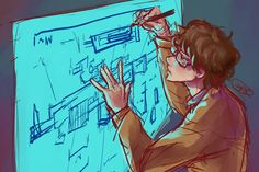 "For the April Doodle Challenge for the prompt ""Doodle your favorite character doodling"". Q James Bond, Daniel Craig James Bond, Hannibal Characters, Writing Motivation, Criminal Minds, Character Inspiration, Movie Tv, Concept Art, Fandoms"