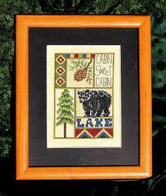 Cabin Sweet Cabin by Bobbie G - Cross Stitch Kits & Patterns