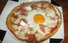 Photo Dukan Pizza dudu à l'oeuf 1200 Calories, Dukan Diet Recipes, Healthy Recipes, Cooking Time, Cooking Recipes, 20 Min, Protein Foods, Cooking Light, I Foods