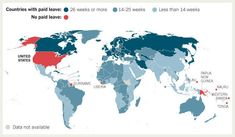 paid maternity leave. // c'mon USA, get your act together.