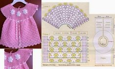 Lacy Dress Baby Crochet. More Great Patterns Like This
