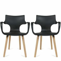 Lot de 2 chaises design Rockwood 189 €