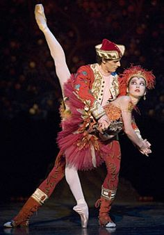 I love the Firebird Ballet. Incredible costumes (love the red!) and an incredible story.