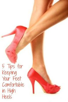 If you normally wear high heels then you know just how tired and achy your feet and back can be at the end of the day. April gives some great insights here into what to do to make your day more com…
