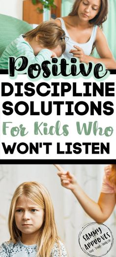Positive Parenting Solutions When Your Kids Won't Listen It's so easy to get frustrated when our kids won't listen. Love these positive parenting techniques to get your children to listen withou Parenting Toddlers, Parenting Teens, Parenting Advice, Foster Parenting, Parenting Quotes, Parenting Styles, Positive Verstärkung, Discipline Positive, Positive Reinforcement Kids