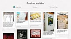 April Thnx Pinterest & U Voting is open - like and/or repin this pin to vote for #Get Organized Concept, Organization, Projects, Blog, Getting Organized, Log Projects, Organisation, Blue Prints, Tejidos