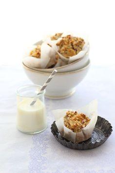 spiced apple amp quinoa muffins egg amp dart
