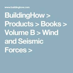 A tutorial on how to calculate the support reactions of a simple buildinghow products books volume b wind and seismic forces ccuart Gallery