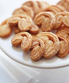 Palmiers Recipe, Elephant Ear Cookies Recipe, How To Make Palmiers, Cookie Recipes, Christmas Cookie Recipes Puff Pastry Recipes, Cookie Recipes, Dessert Recipes, Real Simple Recipes, Sweet Recipes, Palmier Cookies, Frozen Puff Pastry, Cookies Et Biscuits, Sugar Cookies