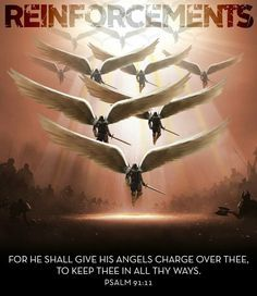 angels worship God & obey his every word...when we pray, he listens & sends his angels to protect us...