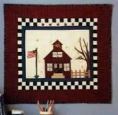 Back To School Wall Hanging Quilt Pattern